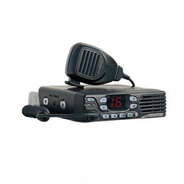 Radio Móvil Kenwood NX-740-HK, VHF 136-174 MHz, 50 Watts, 32 Canales, NXDN-Analógico, Trunking Tipo D, Encriptación, IP54, MIL-STD-810, GPS, Incluye accesorios.