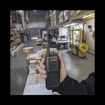 Radio Kenwood  NX-1300-DK4-IS 400-470 MHz, DMR-Analógico, Intrínseco, 5 Watts, 64 Canales, Roaming, Encriptación, GPS, Inc. antena, batería, cargador y clip NX-1300-DK4IS