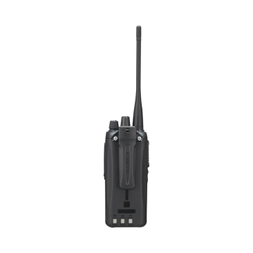 Radio Kenwood NX-1200-AK2, VHF 136-174 MHz, Analógico, 5 Watts, 260 Canales, 9 Teclas, GPS, MIL-STD-810, Incluye antena, batería, cargador y clip, NX-1200AK2