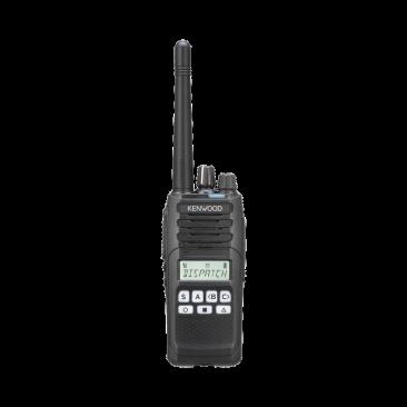 Radio Kenwood NX-1300-AK2, Analógico UHF 450-520 MHz, 5 Watts, 260 Canales, 9 Teclas, IP55, MIL-STD-810, Incluye antena, batería, cargador y clip, NX-1300AK2