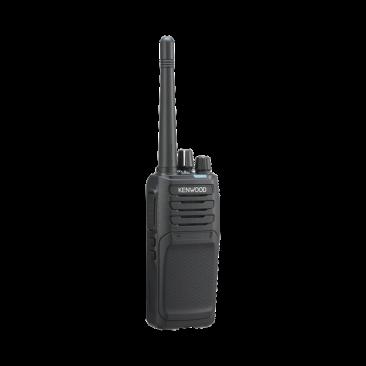Radio Kenwood NX-1300-NK-IS Intrínsecamente Seguro, UHF 450-520 MHz, Digital NXDN y Analógico, 5 Watts, 64 Canales, Roaming, Encriptación, GPS, Incluye antena, batería, cargador y clip, NX-1300NKIS