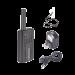 Radio Portátil Kenwood PKT-03, UHF 440-480 MHz, 1.5 W, 4 canales preconfigurados y reprogramables. Incluye Antena/Batería/Cargador//Banda.